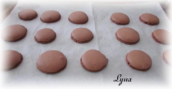 Macarons au chocolat au lait Macaro20