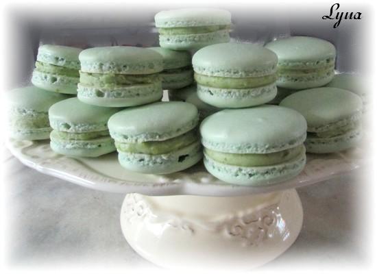 Macarons à la pistache Macaro26