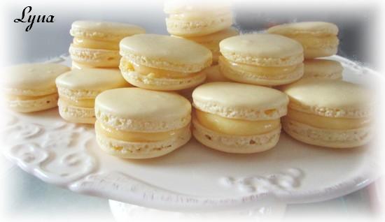 Macarons au citron Macaro27