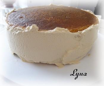 Gâteau au mascarpone et expresso (tiramisu version gâteau Mas410