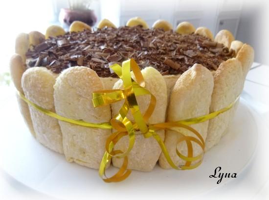 Gâteau au mascarpone et expresso (tiramisu version gâteau Mas711