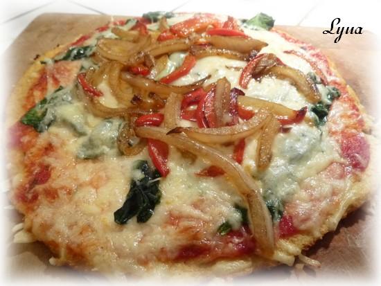 Pâte à pizza au chou-fleur Pizza_13