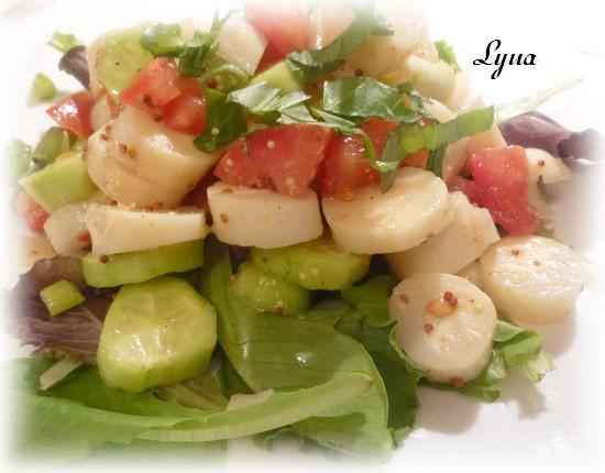 Coeurs de palmier en salade Salade11