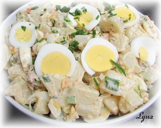 Salade de pommes de terre Salade26
