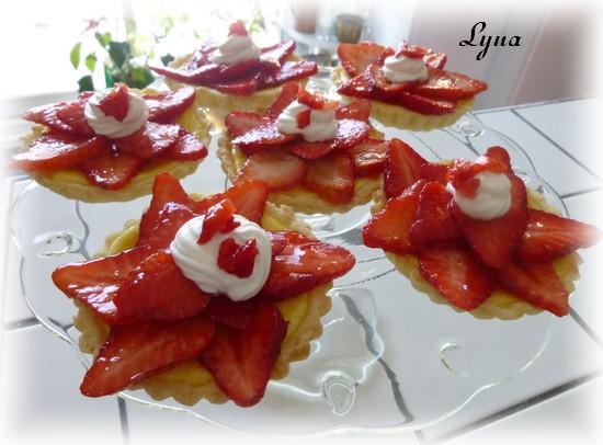 Tartelettes ricotta et fraises Tarte_13