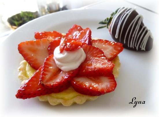 Tartelettes ricotta et fraises Tarte_14
