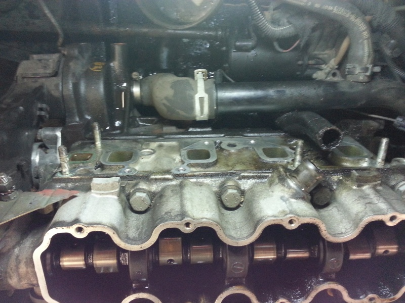 Opel Astra F Caravan, Hilfe mein Motor Leckt 20140512