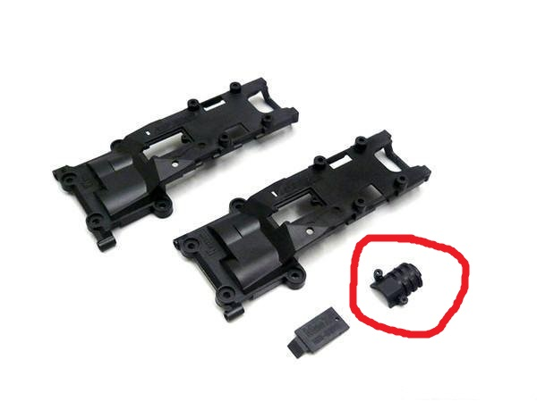 Differences chassis MR03 et MR03 VE Mz50210