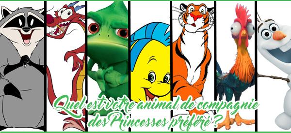 DISNEY : Quel est votre animal de compagnie des princesses préféré? Animal10