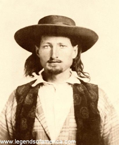 James Butler Hickok et Martha jane Conaray Billhi10