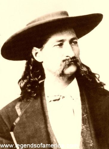 James Butler Hickok et Martha jane Conaray Billhi16