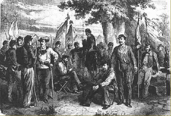 Réguliers, Volontaires et Miliciens .    ou comment s'y retrouver dans les armées de la guerre de sécession ?!  by Paddy Regvol11