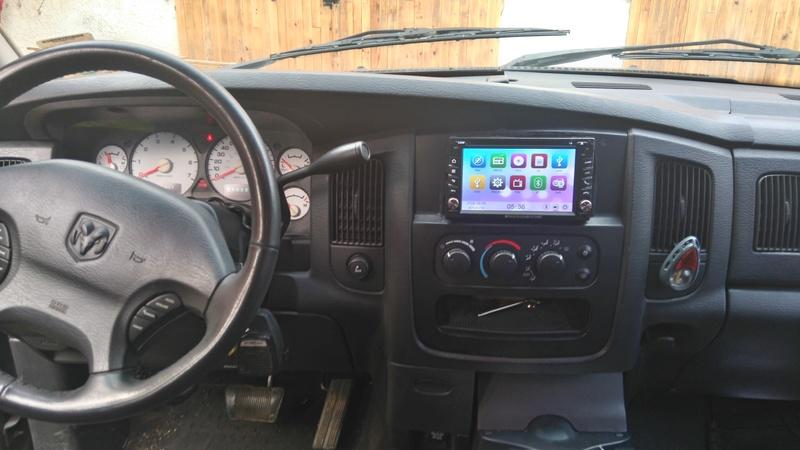 Autoradio, camera de recul, radar Dsc_0110