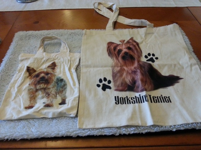 83.  Little and Large Yorkie Bags 2013-010