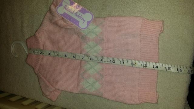 89.  Pink Medium Jumper 2013-110