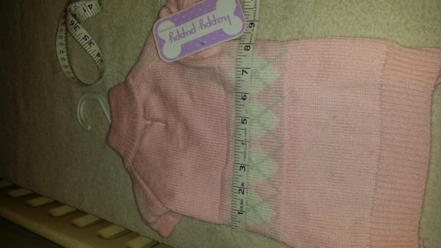 89.  Pink Medium Jumper 2013-111