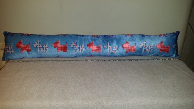 91.  Scottie Draught Excluder - number two 2013-113