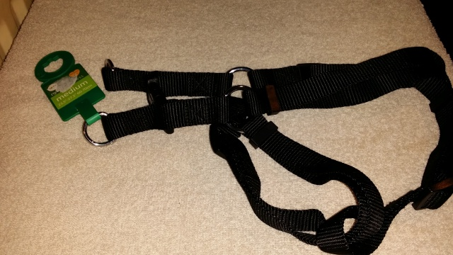 96.  Black Medium Harness - number one (we have two of these) 2013-118