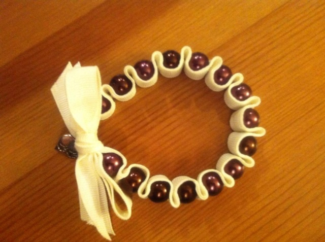 104.  Handcrafted Paw Prints Bracelet by Jaquelyn Ashbery (Mother Moon) Bracel11