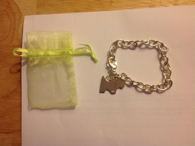 10. Silver 925 Bracelet with Pretty Dog Charm.  Image10