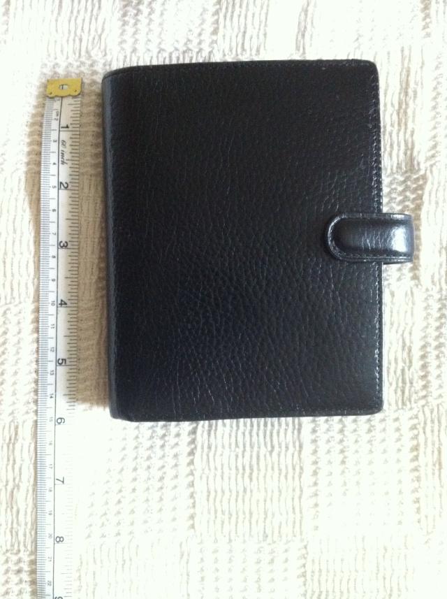 53.  Black Leather Filofax Img_2513