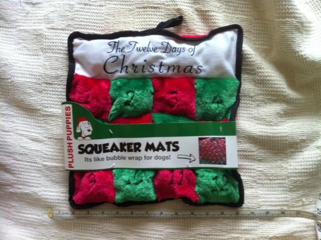 58.  Fabulous Squeaky Dog Toy Img_2519
