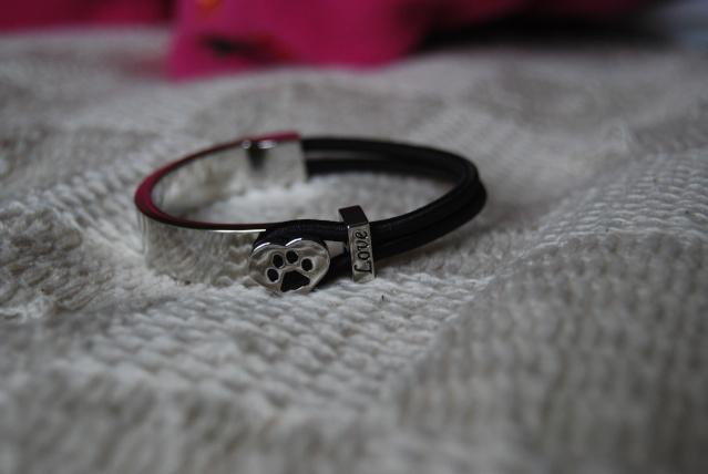 64.  Dog Paw Bracelet Novemb16