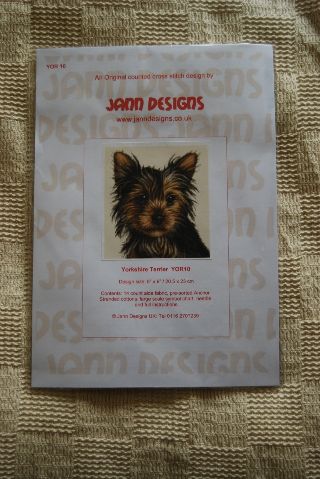 79.  Counted Cross Stitch Kit - Yorkie - number one Novemb31