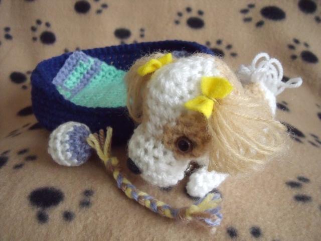 38.  Handmade Crochet Shih Tzu Shih_t11