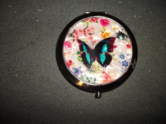123.  Butterfly Handbag Mirror Shirle10