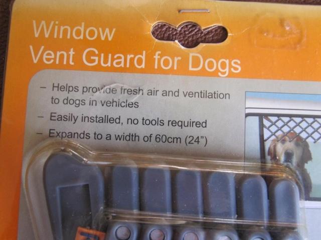 102.  Car Window  Dog  Vent Guard Window11