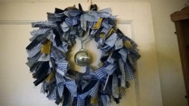 111. Handmade Christmas Wreath Wreath10