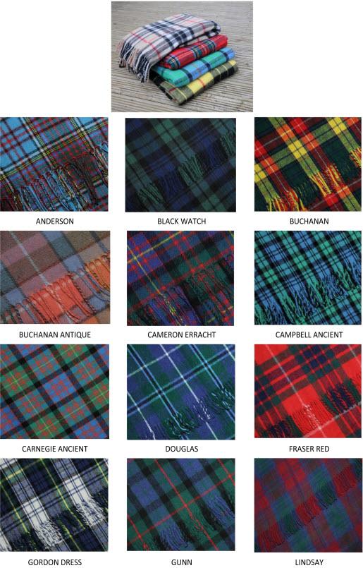 OBJETS CELTIQUES, gaéliques, écossais ... Clan-t10