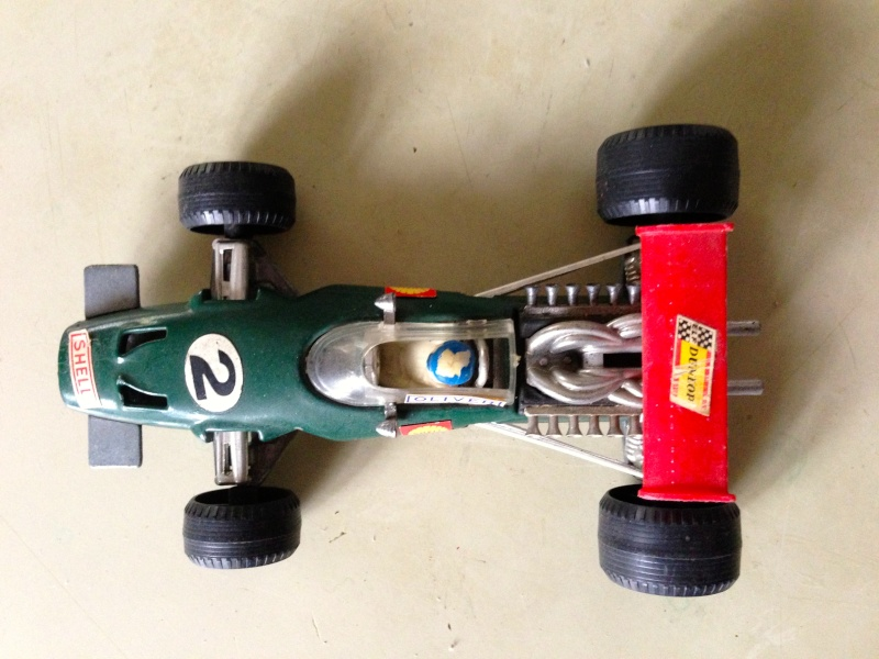 BRM F1 POLITOYS SERIE F SCALA 1/32 MADE IN ITALY CON PILOTA OLIVER Img_1410