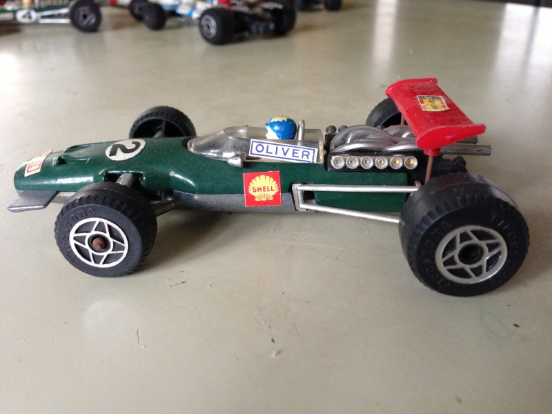 BRM F1 POLITOYS SERIE F SCALA 1/32 MADE IN ITALY CON PILOTA OLIVER Img_1411