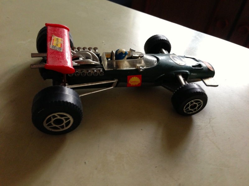 BRM F1 POLITOYS SERIE F SCALA 1/32 MADE IN ITALY CON PILOTA OLIVER Img_1412