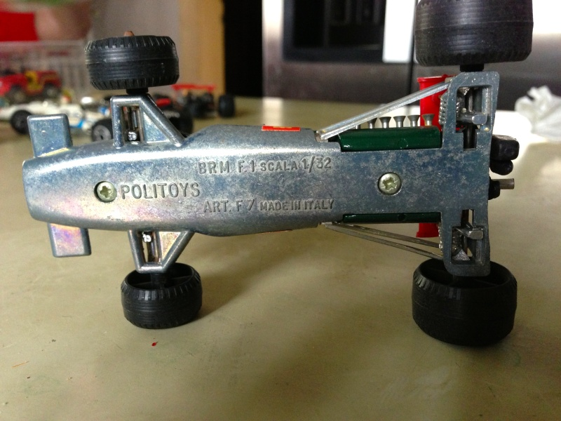 BRM F1 POLITOYS SERIE F SCALA 1/32 MADE IN ITALY CON PILOTA OLIVER Img_1414