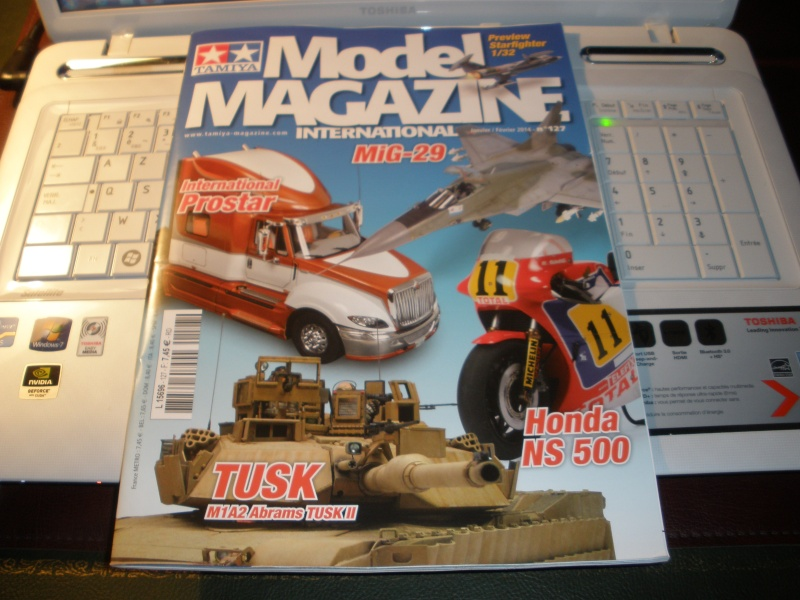 Tamiya model Magazine n°127 Janvier/Février 2014 P1020210