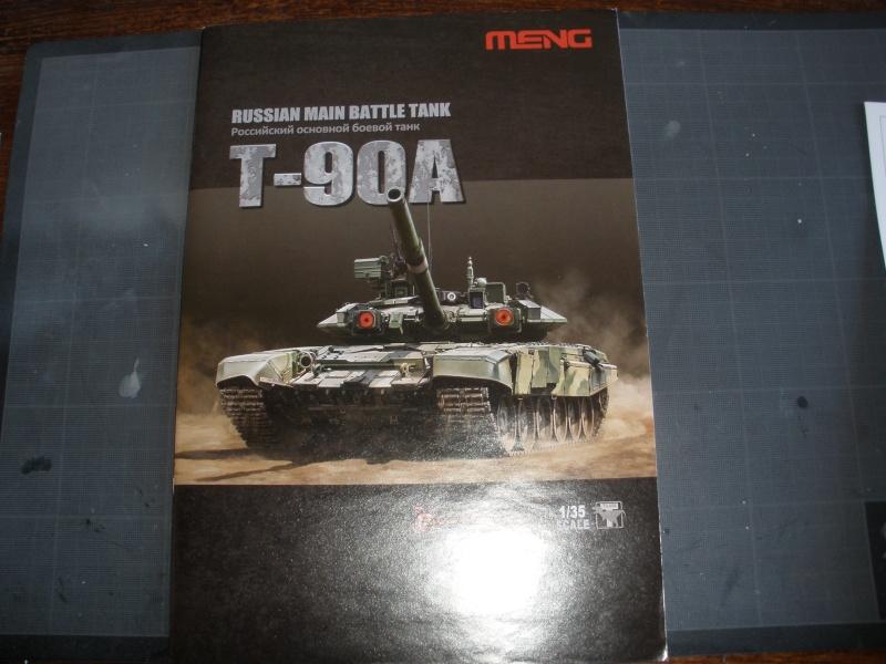 Revue de kit T-90A MENG échele 1/35. Pb250328