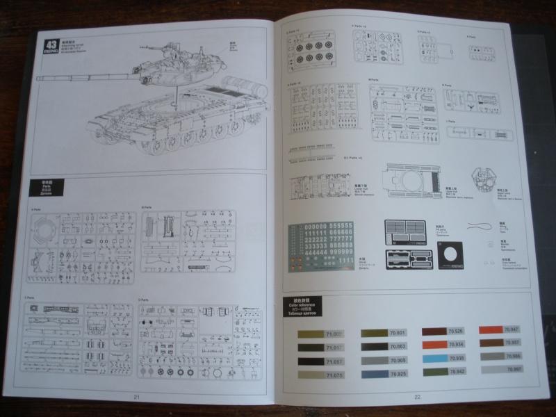 Revue de kit T-90A MENG échele 1/35. Pb250329