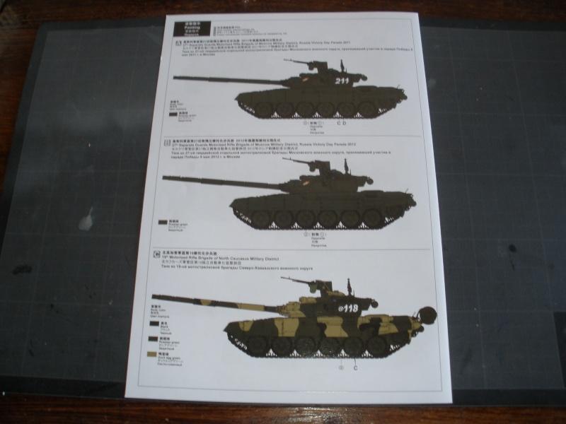 Revue de kit T-90A MENG échele 1/35. Pb250332