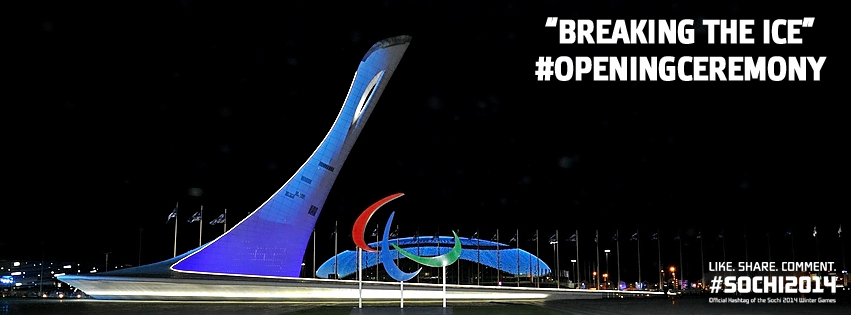 Cérémonie d'Ouverture des Jeux Paralympiques Sotchi 2014 Breaki10
