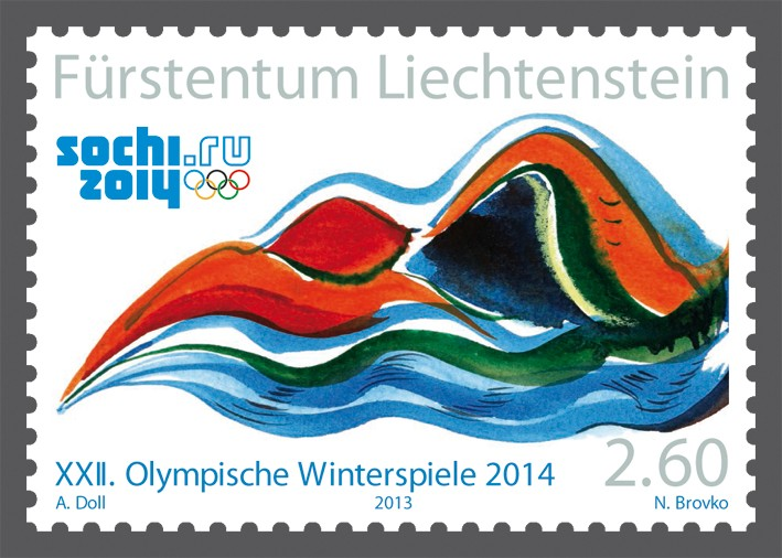 Timbres - Jeux Olympiques Sotchi 2014 Olympi10