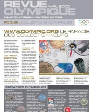 AFCOS - M. PICQUOT à la Commission philatélie, numismatique et mémorabilia olympiques Revueo10