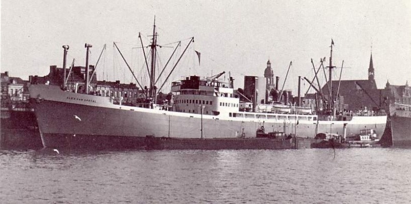 Belgian Shipping - CMB: Alex Van Opstael 1937 Avo1011