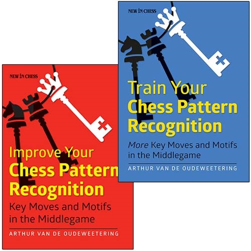 Train Your Chess Pattern Recognition More Key Moves & Motifs in the Middlegame by Arthur Van de Oudeweetering Cb063513