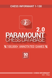 Paramount Chess Database 2.0 (Chess Informant 001-130) Paramo14