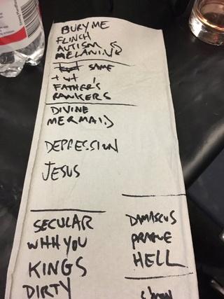 Setlists - European Tour 2017  Img_5014