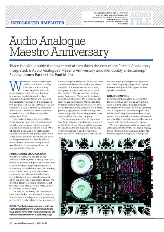Nuovo integrato AudioAnalogue - Pagina 2 Go910