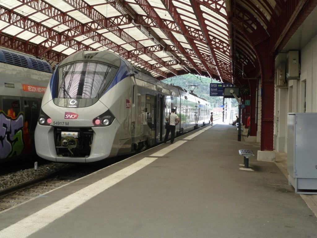 Pk 082,2 : Gare de Foix (09) - 2017 : Chantier devant ! Latour12